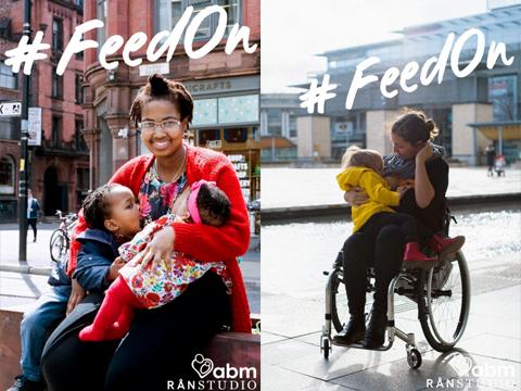 #feedon breastfeeding in public